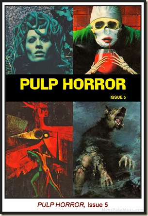 PULP HORROR, issue 5 front