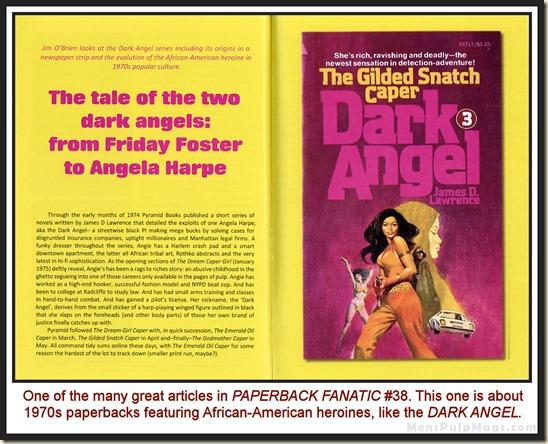 PAPERBACK FANATIC, Issue 36 - Dark Angel wm
