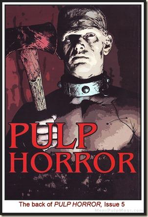 PULP HORROR, issue 5 WM