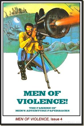 MEN OF VIOLENCE, Issue 4 wm