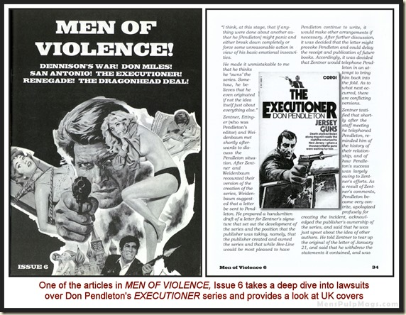 MEN OF VIOLENCE, Issue 6 bd wm