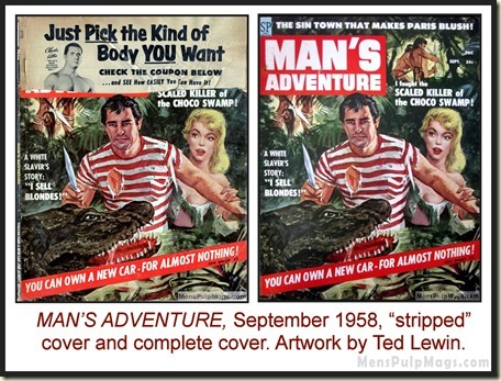 MANS-ADVENTURE-Sept-1958-Cover-by-Te