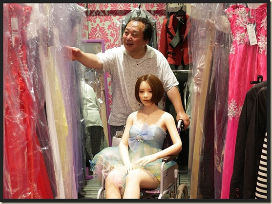 Senji Nakajima and his doll Saori 01bb