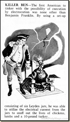 STAG - 1961 11 Nov - Ben Franklin turkey story