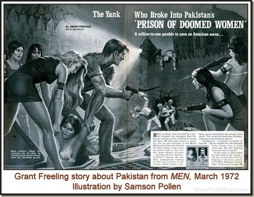 MEN, March 1972, art by Samson Pollen WM