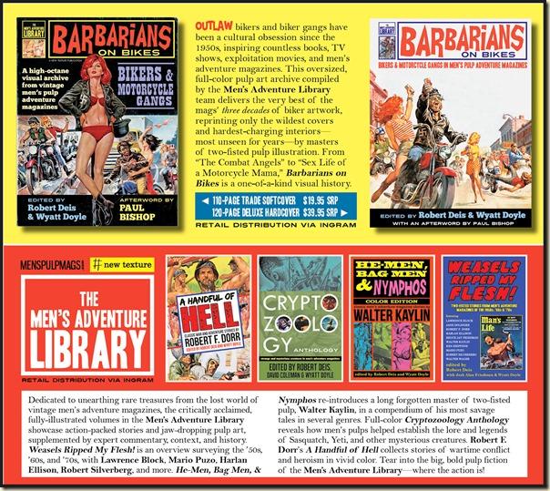 Men's Adventure Library book series