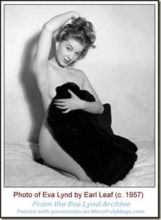 Eva Lynd, photo by Earl Leaf c. 1957 02 WM