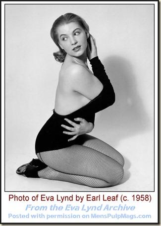 Eva Lynd, photo by Earl Leaf c. 1958 04