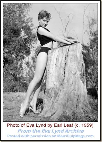 Eva Lynd photo by Earl Leaf c1959 WM1