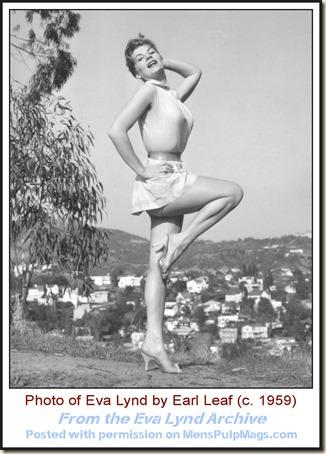 Eva Lynd photo by Earl Leaf c1959 WM2a