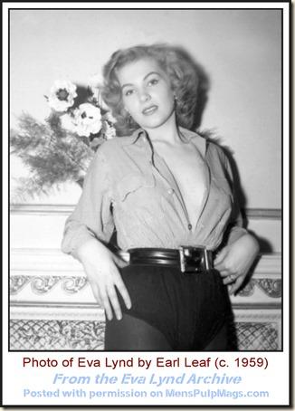Eva Lynd photo by Earl Leaf c1959 WM5