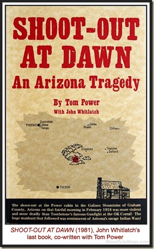 John Whitlatch & Tom Power, SHOOT OUT AT DAWN (1981) MPM