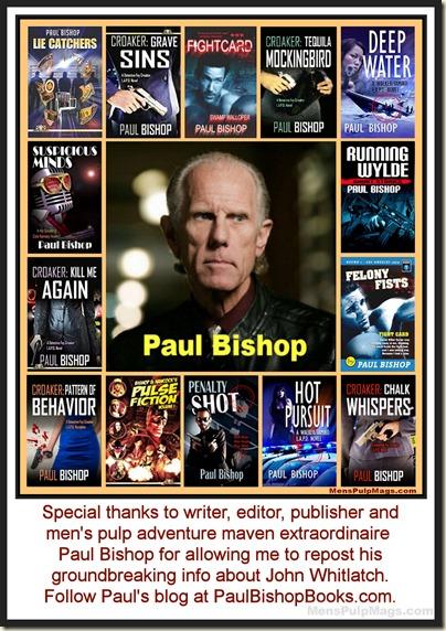 Paul Bishop, writer editor publisher